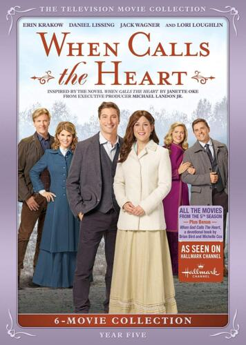 When Calls The Heart: Year Five DVD New Sealed In stock