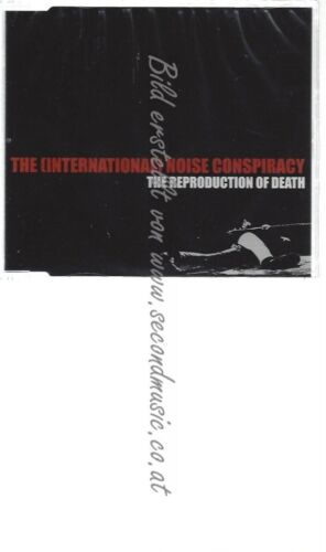 CD--THE -INTERNATIONAL- NOISE CONSPIRACY-   THE REPRODUCTION OF DEATH