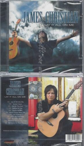 CD--JAMES CHRISTIAN--LAY IT ALL ON ME