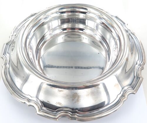 .c1921 TIFFANY & Co STERLING SILVER HUGE FLORAL CENTRE PIECE BOWL 1030 g