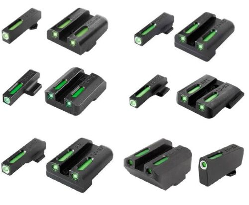 TruGlo TFX Handgun Tritium/Fiber-Optic Day & Night Front/Rear Pistol Sight SetsPistol - 73944