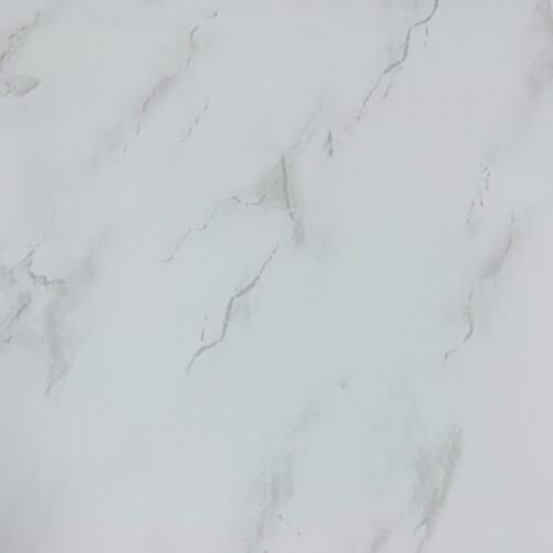 White Marble Bathroom Wall Panels Shower Wet Wall PVC Ceiling Cladding Kitchen  <br/> Fast & Free Delivery! 100% Waterproof! Tongue & Groove!