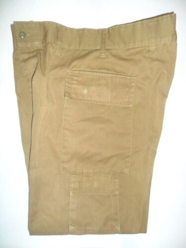 Lot 4 Idf Zahal Pants, Covered Buttons Trousers Golani.  Israeli Army UniformOther Militaria - 135