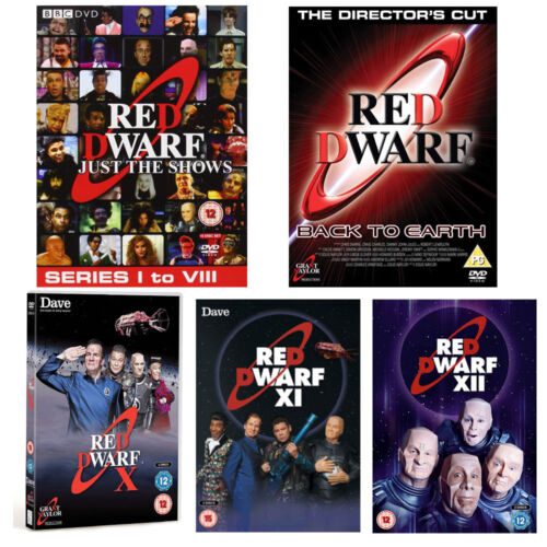 Red Dwarf Just The Shows Complete Series Seasons 1 - 12 DVD Back to Earth R4