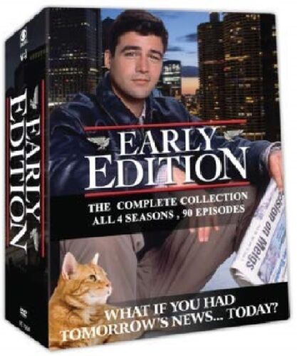 EARLY EDITION 1-4 (1996-2000): COMPLETE - Newspaper TV Season Series NEW Rg1 DVD