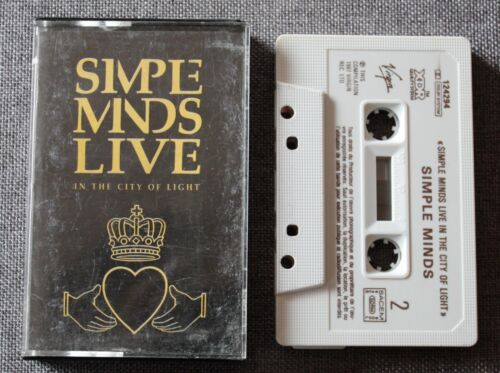 Simple Minds, live in the city of light. K7 audio / Audio tape