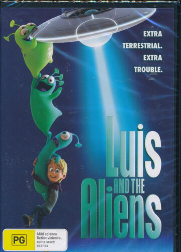 Luis And The Aliens DVD NEW Region 4