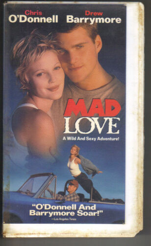 1995 VHS - Mad Love - Chris O'Donnell Drew Barrymore PC