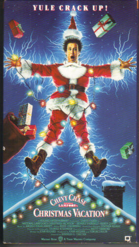1991 VHS - Christmas Vacation - Chevy Chase PC