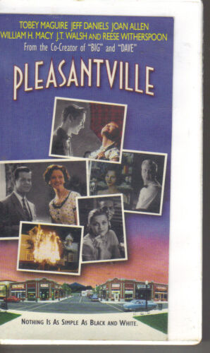 1998 VHS - Pleasantville Tobey Maguire Reese Witherspoon PC
