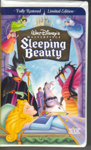 Walt Disney's Sleeping Beauty Limited Edition Masterpiece Collection VHS 9511 PC