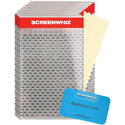 ScreenWhiz High Strength Screen Protector for Large Devices - 10 pack - Clear