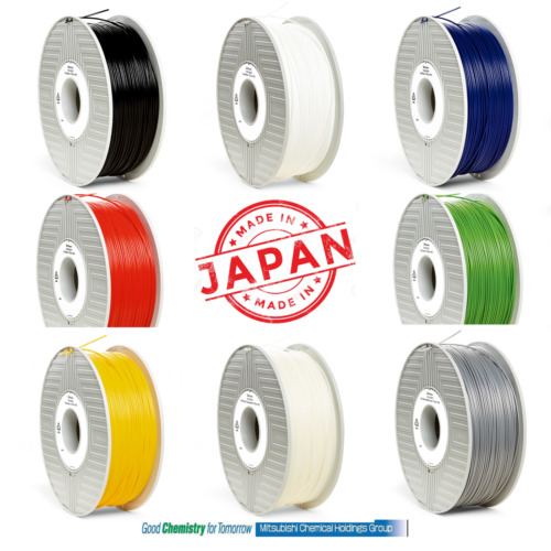 VERBATIM PLA 3D Filament - 3.00mm Black White Blue Red Green Yellow Silver Clear