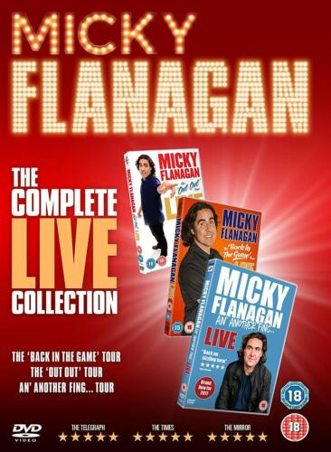 Micky Flanagan: The Complete Live Collection DVD Box Set New Sealed