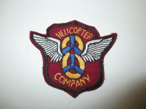 e0359 1950s 1960s US Army 8th Helicopter Patch IR18D