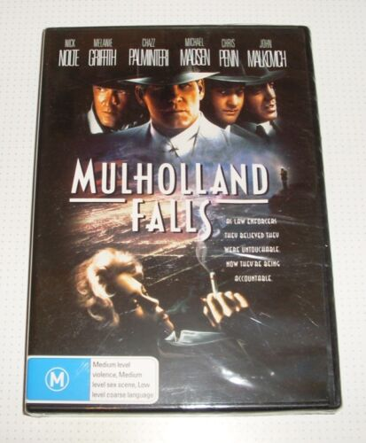 DVD - Mulholland Falls - Nick Nolte - Melanie Griffith- New & Sealed