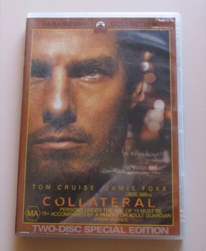 DVD - Collateral - Tom Cruise - Jamie Foxx - 2 Disc Set - REDUCED!!