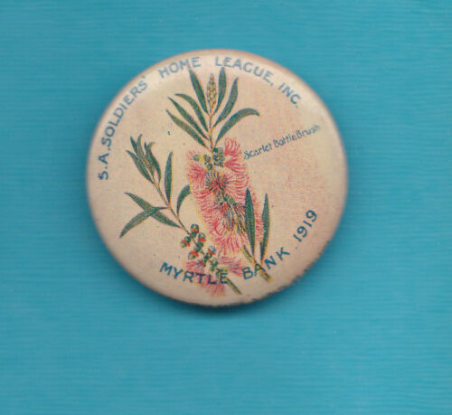 Australia 1919 Soldiers Home League Badge Nice Condition Scarce1914 - 1918 (WWI) - 13962