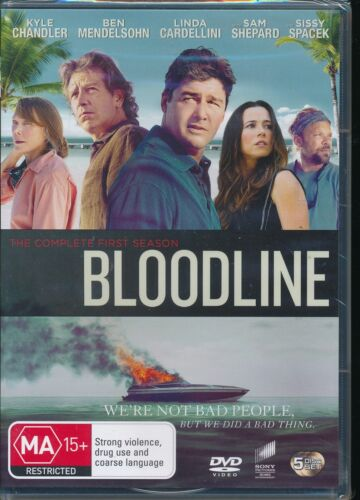 Bloodline The Complete First Season one 1 DVD NEW Region 4 Kyle Chandler