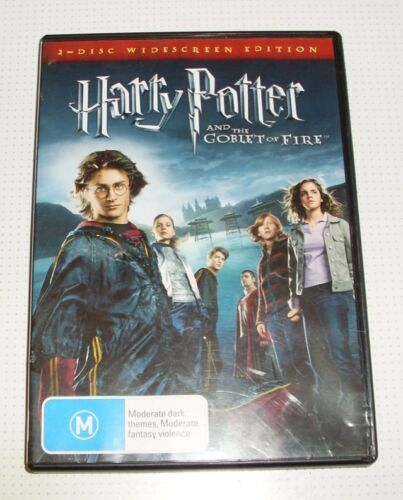 DVD - Harry Potter and the Goblet of Fire - Radcliffe - Watson