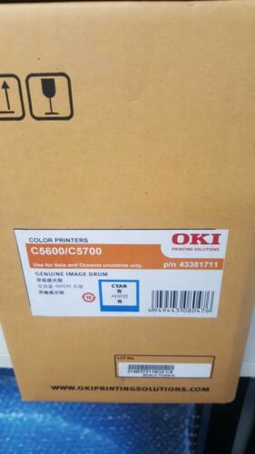 OKI C5700 Drum Unit - Cyan 43381711