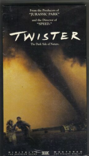 Twister (VHS, 1996) Helen Hunt Bill Paxton chase Tornadoes 600 PC
