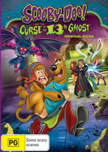 Scooby-Doo! and the Curse of the 13th Ghost Original Movie DVD R4 New