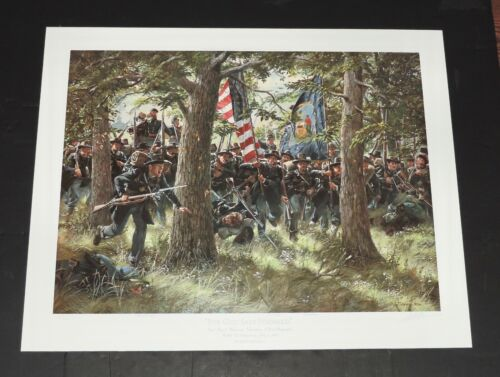 Don Troiani - For God Sake Forward - MINT Condition  Collectible Civil War Print
