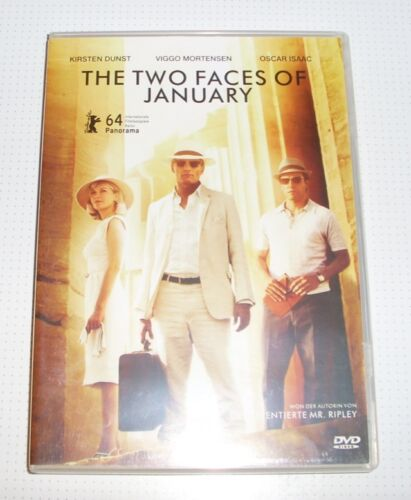 Blu-Ray - The Two Faces of January - Mortensen - Dunst - Region 1? - REDUCED!!