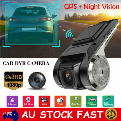 1080P Wifi GPS Hidden Camera Car Dash Cam DVR Video Recorder Night Vision ADAS