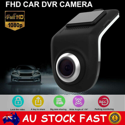 170° 1080P Car Hidden Camera DVR Video Dash Cam Recorder GPS Night Vision ADAS