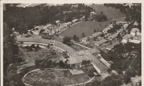 KAPPYSSTAMPS PC11 1936 SUMMER OLYMPIC VILLAGE VERY RARE AERIAL VIEW