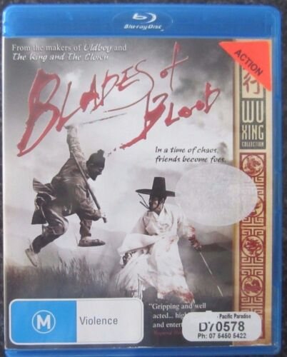 Blades Of Blood (Blu-ray, 2011) VGC