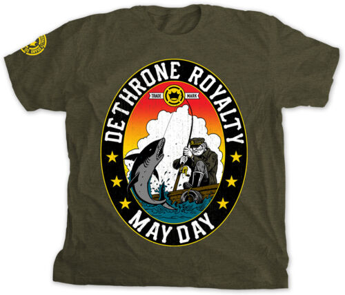 Dethrone Mayday 4.0 T-Shirt - Small - Forest Green Heather