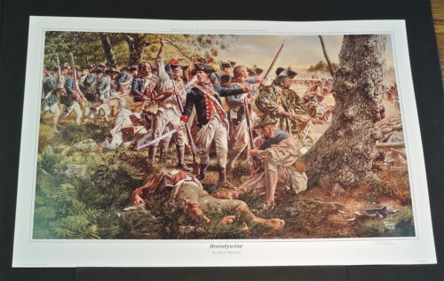 Rick Reeves - Brandywine - Collectible Revolutionaryl War Print