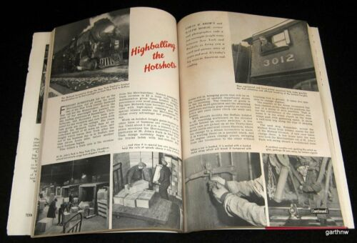 NEW YORK CENTRAL RAILROAD 1941 PICTORIAL MERCHANDISER FREIGHT TRAIN NY - BUFFALO