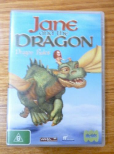 JANE and the DRAGON - DRAGON RULES includes 4 Episodes  DVD R4 VGC