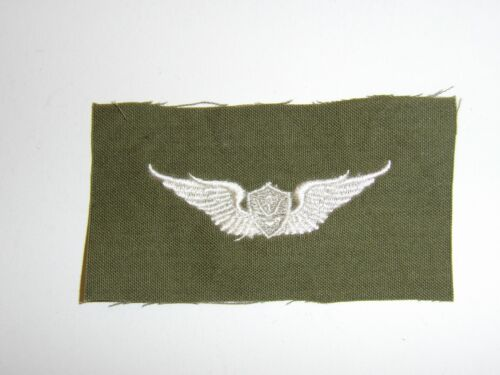 e2394 Vietnam US Army Aircrew Wing White on light OD mch IR15FReproductions - 156472