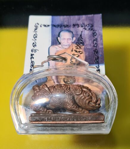 Amulet Boar, Lp Kalung, Pig Metal Powerful + Keychain of Wealth & Good sale