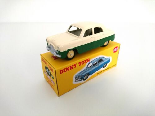 Ford Zephyr Saloon - DINKY TOYS DeAGOSTINI VOITURE MINIATURE MODEL CAR - 162