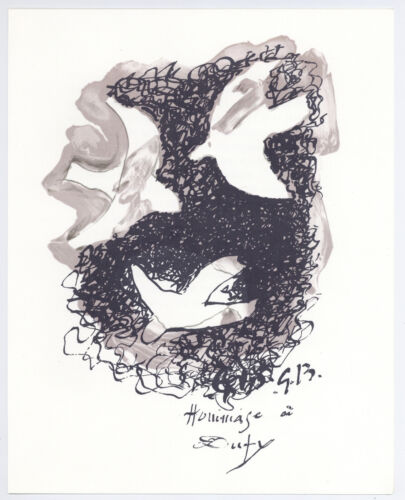 Georges Braque lithograph printed by Mourlot  899090-9