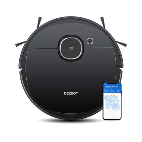 ECOVACS DEEBOT N79T Robot Vacuum Cleaner for Hard Floors & Carpets App Controls <br/> 1-year local warranty service