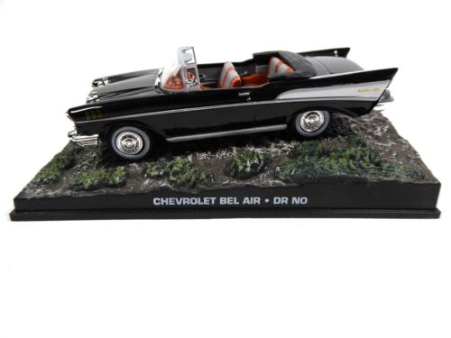 Chevrolet Bel Air Cabriolet - James Bond 007 Dr No - 1:43 Voiture Car DY033
