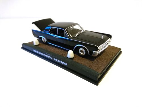 Lincoln Continental Goldfinger JAMES BOND 007 1/43 VOITURE DIECAST DY048