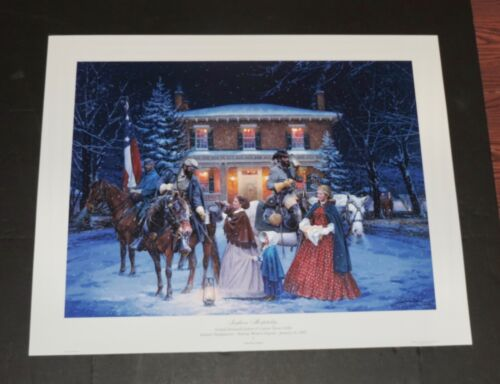 John Paul Strain - Southern Hospitality - Giclee - Collectible Civil War Print