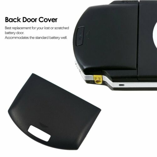 2 Color Optional Battery Cover For PSP 1000 PSP1000 Back Pack Door Cover shell Y