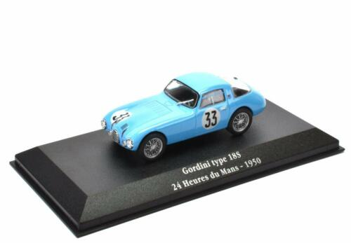 Gordini type 18S Le Mans 1950 - 1/43 Atlas Voiture miniature Model car G013