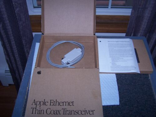 Apple Ethernet Card Thin CoaxTransceiver cable M0329Z/B