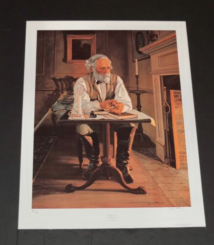 Gordon Phillips - REFLECTIONS - A/P - Hand Signed - Collectible Civil War Print