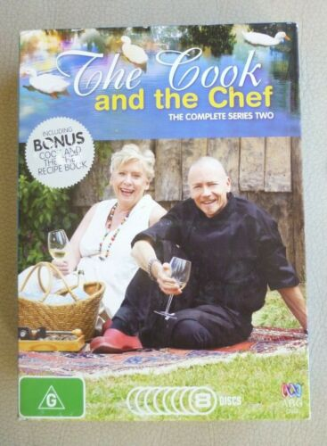 THE COOK and the CHEF The Complete Series Two 8 DVD Set VGC Region 4